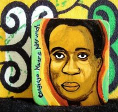Kwame Nkrumah,  Leader of the fight for the liberation of Ghana from the British rule and first president of the country's independence. As a ideologist leader, Nkrumah can be considered one of the fathers of Pan-A...  http://www.mytropix.com/productdetails.php?productid=78