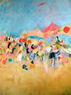 Abstract Beach by Sandy Welch