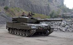 Lataa kuva Leopard 2A4, Saksan säiliö, Itävalta, moderni panssaroituja ajoneuvoja, Battle tank Leopard 2A4, säiliö