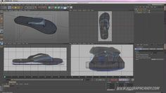 Cinema 4D Tutorial: How to Model a Pair of Sandals in Cinema 4D