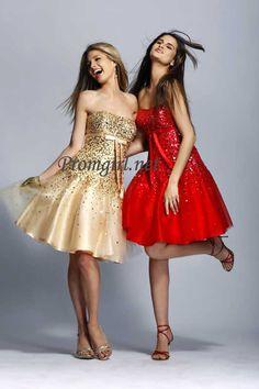 Prom dress Paris 18779 pink, short cocktail dress, short formal gown |Promgirl.net |Promgirl.net