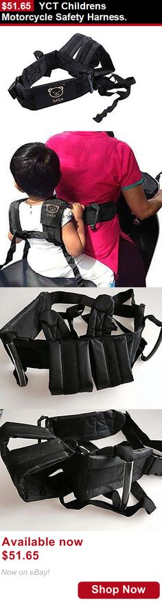 Toddler Safety Harnesses: Yct Childrens Motorcycle Safety Harness. BUY IT NOW ONLY: $51.65