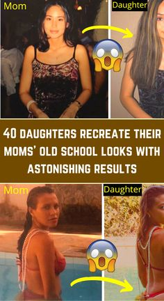 With social distancing and quarantine, Mother's Day wasn't all that easy in 2020. However, that didn't stop some thoughtful daughters from coming up with a unique way to commemorate the day. These daughters decided to recreate pictures of their moms from earlier years. The best part was that they chose to pose as their moms in the photos. Some of the images are uncanny. Here are 40 of the best ones on the internet: Aesthetic Eyes, Aesthetic Bedroom, Aesthetic Collage, Gucci Fashion, Fashion Suits, Neon Bedroom, Halloween Shoes, Belly Tattoos, Cute Tiny Tattoos