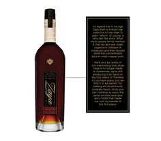 Zaya #rum #packaging #ron