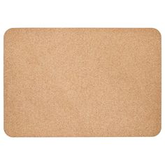 IKEA - SUSIG, Desk pad, cork, This desk pad is made of cork ― a dirt-repellent natural material that is also resistant to water, but you should still wipe off spilled liquids immediately to avoid marks. Arts And Crafts Storage, Craft Storage, Ikea Cork, Alex Desk, Ikea Alex, Desk Pad, Chiffon, White Stain, Black Desk