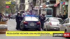 Efectivos de la Comisaria 50a. de Policía de la Ciudad, fueron desplazados a la calle Helguera 423, por una denuncia de disparos de arma de fuego.  Las fuentes policiales señalaron que una vez llegado al edificio pudieron observar una mujer herida por lo que la el juez de turno dispuso que se   #policiales #ultimo momento
