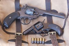 A Webley Bull Dog in This one belongs to a friend (I do own a full-size Webley in Five shots of slow-moving, black-powder-propelled lead. We tried it with some smokeless Webley Revolver, Revolver Pistol, Western Holsters, Firearms, Shotguns, Lever Action, Fire Powers, Guns And Ammo, Rifles