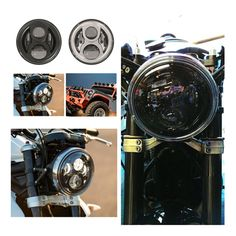 """60.00$  Watch here - http://alikpz.worldwells.pw/go.php?t=32778911678 - """"H4 For Harley Davidso Motorcycle 7"""""""" headlight Led Headlamp Motorcycle Headlight For Harley Moto Lighting Hummerr H1 & H2 Jeeep """""""