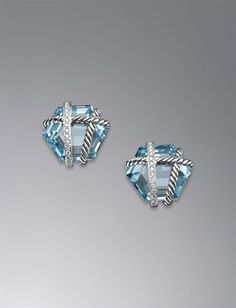David Yurman's Cable Wrap Earrings <3