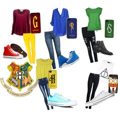 Harry Potter Inspired Outfits made by me in Polyvore