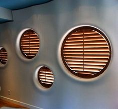 Wooden Shutters For Round Windows : Dressing For A Round Window In Your House