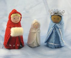 the story of the snow children - dolls by Alkelda on Flickr