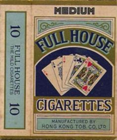 Full House cigarettes (package of 10)