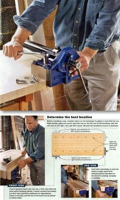 Install Woodworking Vise - Workshop Solutions Projects, Tips and Tricks   WoodArchivist.com