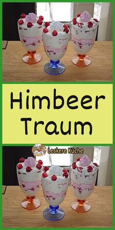Himbeer Traum To make wine beverages, a fruit will be very first farmed from other Light Desserts, Desserts For A Crowd, Summer Desserts, Superbowl Desserts, How To Make Glitter, Diy Wine Glasses, Individual Desserts, Homemade Wine, Glitter Wine