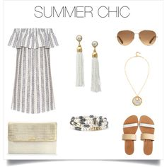 Gold & white are perfection for Summer!