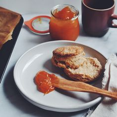 Flakiest Buttermilk Biscuits with Apricot Jam: On Building a Life | Turntable Kitchen