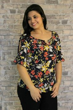 Curvy Girl Fashion, Plus Size Fashion, Blouse Patterns, Blouse Designs, Date Night Outfit Curvy, Dresses For Apple Shape, Blouse Styles, Plus Size Tops, Pretty Outfits