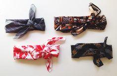 CULTURED. Blog // DIY: Vintage Baby and Adult Headwrap