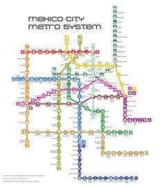 Website dedicated to the Mexico City Metro system, as well as the Metrobus, Tren Ligero and Tren Suburbano systems. Not affiliated with the STC. Subway Map, Nyc Subway, Metro Mexico, Sacred Groves, Metro Map, Tourist Map, Ap Spanish, Map Design, Graphic Design