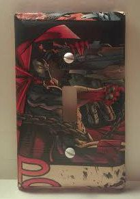 Spawn Light Switch Cover Comic Books Image by ComicBookCreations01