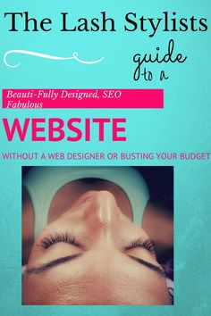 Listen to my free webinar on how to build a beautiful client attracting website in under 5 days!  Visit TheLashCEO.com and join me for details on free webinars, and client attraction tools and strategies for your eyelash extension and or microblading business.