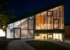BIG designs an art school beneath a football field