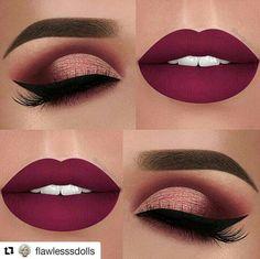Prom Red Lipstick and Eye Make up Ideas Makeup Goals, Makeup Inspo, Makeup Inspiration, Makeup Tips, Makeup Ideas, Makeup Products, Makeup Trends, Makeup Hacks, Beauty Products