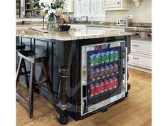 Vinotemp VT-BC54TSSM-L 120 can touch screen beverage cooler.