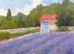 """Daily+Paintworks+-+""""St.+Remy+Garden""""+-+Original+Fine+Art+for+Sale+-+©+Mark+Bidstrup"""
