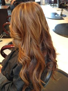 warm brown with highlights