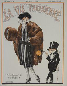 La Vie Parisienne magazine, January 1921 ( L'Homme à la Rose by René Vincent