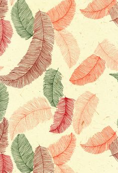 5 sheets Feather Pattern textured Indian Screen Printed Paper paper -… on We Heart It Motifs Textiles, Textile Prints, Textile Patterns, Pattern Paper, Pattern Art, Pattern Design, Wallpaper Backgrounds, Iphone Wallpaper, Wallpapers