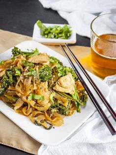 ... tofu and broccolini pad see ew recipes dishmaps vegetarian pad see ew