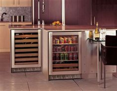 ZDBR240PBS - Stainless Steel Beverage Center - The GE Monogram Collection