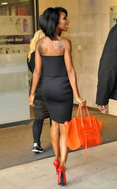 Brandy Norwood visits BBC 1 in London