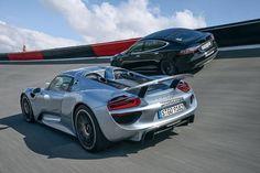 A rivalry is brewing between Porsche and Tesla Porsche 918, Best Games, Tennessee, Tesla Models, Vehicles, Cars, Autos, Car, Car