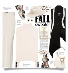 """""""Fall Sweater"""" by kiki-bi ❤ liked on Polyvore featuring MARC CAIN, Gucci, Philosophy di Lorenzo Serafini, Ann Demeulemeester, Brixton, Kate Spade and fallsweaters"""