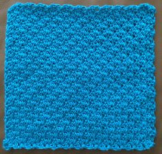 Ravelry: Diagonal Crochet Moss Stitch pattern by Jessica of Pretty In Picot