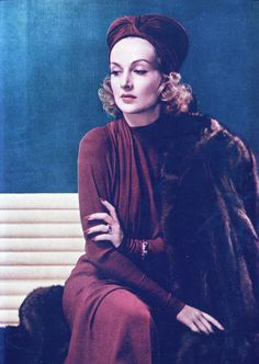 Carole Lombard-famous 1930's Hollywood actress.
