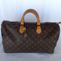 Louis Vuitton Speedy 40 Pre Owned Brown Bag - Satchel $650