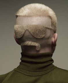 Funny haircut :D