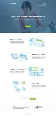 Unique Web Design, Fwdmarket #WebDesign #Design (http://www.pinterest.com/aldenchong/)