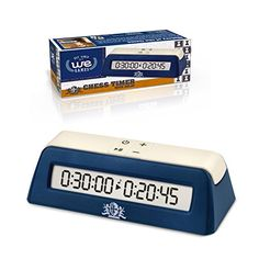 WE Games Digital Chess Clock/Game Timer with delay button ** See this great product.