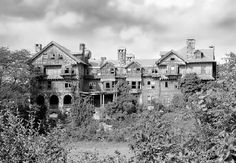 This is fascinating....This was the Bennett School for Girls in Millbrook, NY. CLosed in 1978 and abandoned.  I am going to post a picture of it in it's glory...
