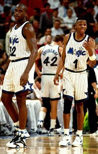 Shaquille O'Neal & Penny Hardaway with Orlando Magic.
