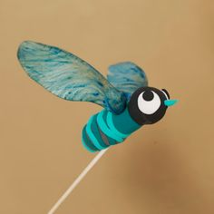 Cute idea for all those helicopter seeds lying around.