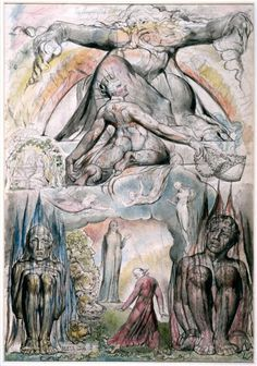 The Mission of Virgil by William Blake