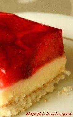 Polish Desserts, Polish Recipes, Polish Food, Baking Recipes, Cake Recipes, Food Cakes, Sweet Recipes, Biscuits, Cheesecake