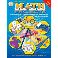 Math Projects! Love ones like these!  #cdwishlist